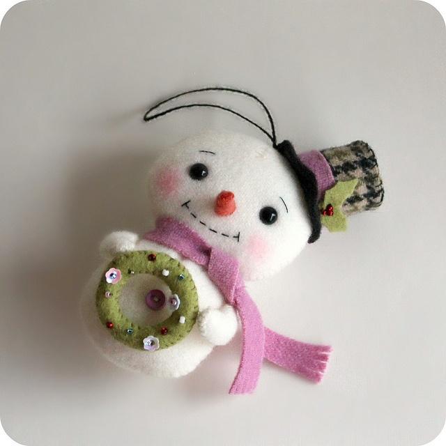 snowman by Gingermelon, via Flickr