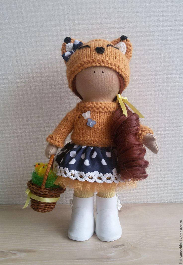 Купить Лисаветта - кукла ручной работы, кукла интерьерная, кукла текстильная, кукла в подарок