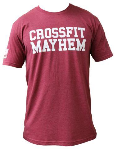 CF Mayhem Game Day Tee-Crimson
