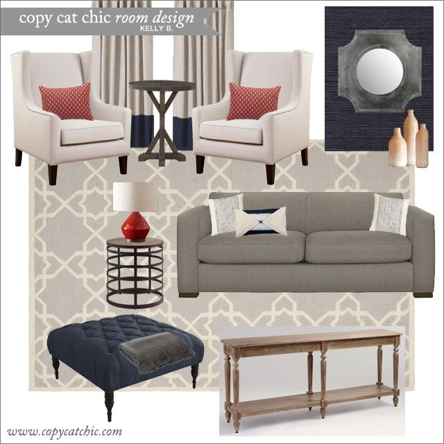 Living Room Ideas Young Family 195 best copy cat chic | room designs images on pinterest | copy