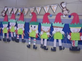 Let's Make an elf!...CUTE!!! one of my fav. 1st. grade classes to sub in did this one day when I was there...