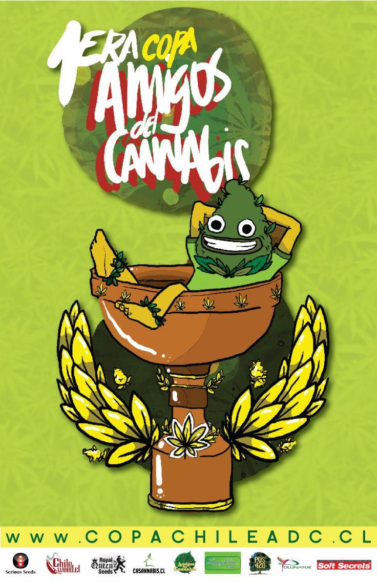 Poster Evento Primera Copa Cannabica ADC