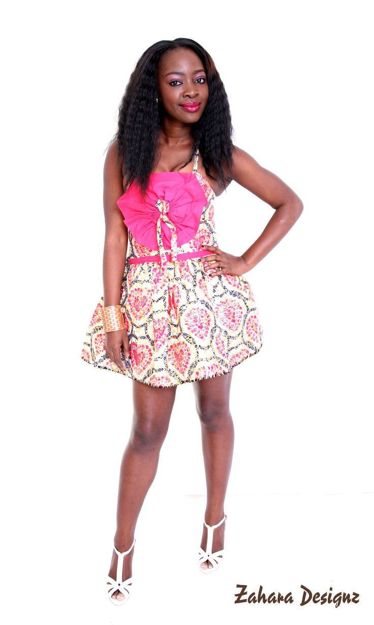 African Print bubble dress, this dress is ideal for a night out. it is made from 100% cotton wax fabric.