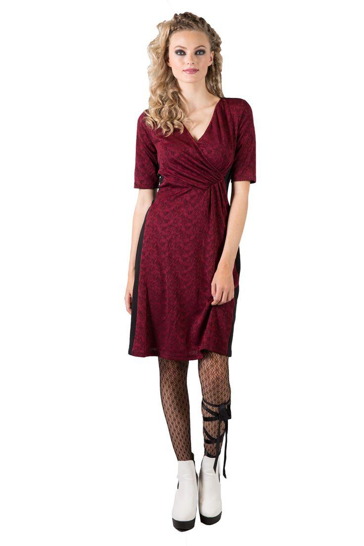 Sheryl Dress | Winter Wrap Dresses | Work Wear | Annah Stretton