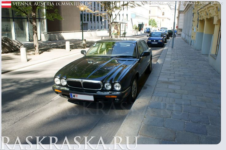Jaguar xj executive raritet. Cars in Vienna. Austria. Wien, Österreich. Alexander odigif@gmail.com Author's photo.