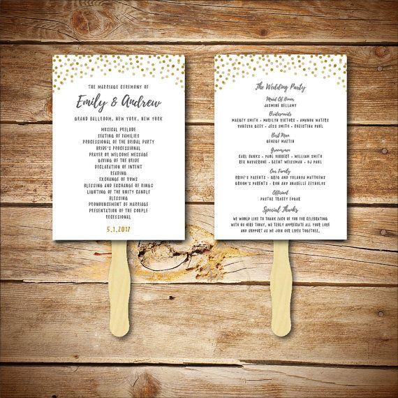 Best Wedding Program Templates Images On   Wedding