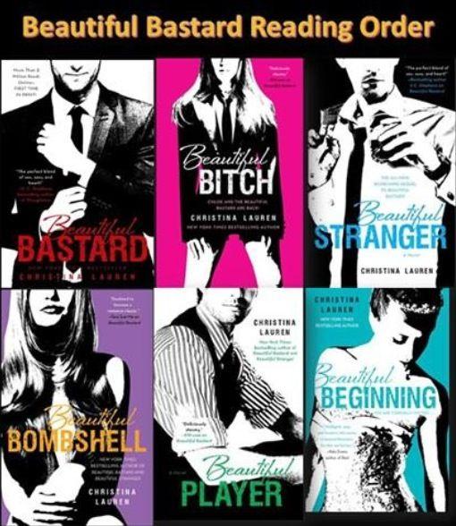 Beautiful Bastard series by Christina Lauren   She likes