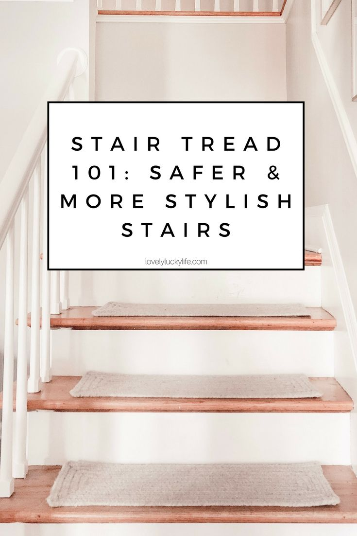 Carpet Stair Tread 101 Why You Need Them On Your Wood Stairs