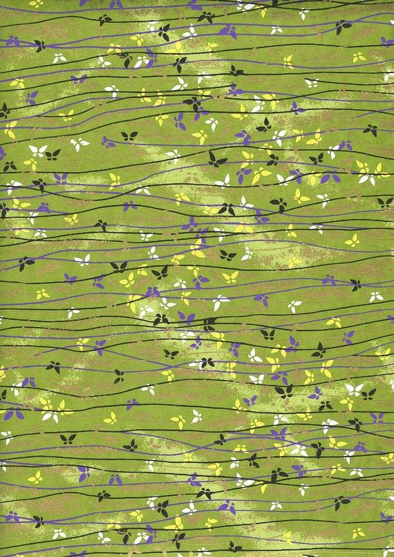 Japanese Yuzen Chiyogami Washi Paper Butterfly by CraftyPaperOz, $3.20