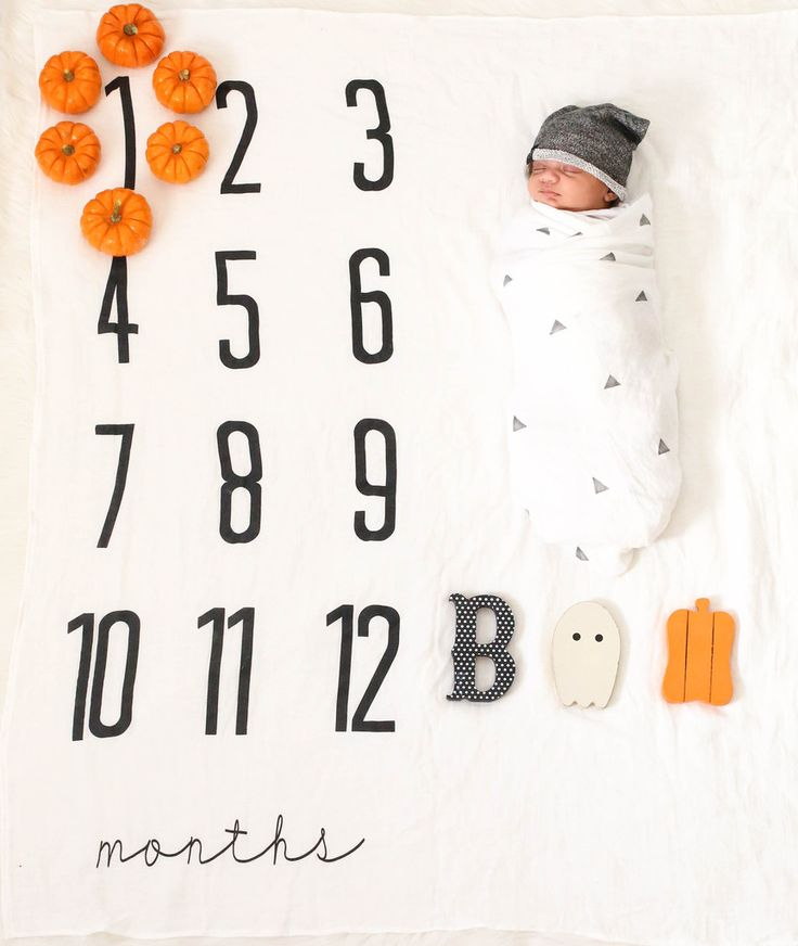 Monthly Milestone Blankets -- a different way to document your babies growth…