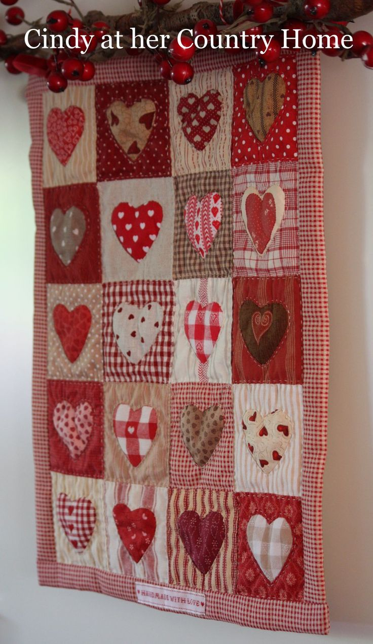 25 best Quilts handmade by Cindy at her Country Home images on ... : country home quilts - Adamdwight.com