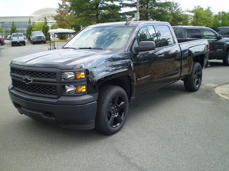 2015 Chevrolet Silverado Black Out Edition