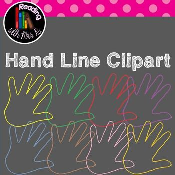 This is one in a new series of 9 different hands clipart zip files now available in my store.  This contains 20 different colour versions of the same line hands.  TRANSPARENT PNG   As with all my clipart, commercial use is encouraged, all I ask is that you use the enclosed button in YOUR product and link it back to my store.