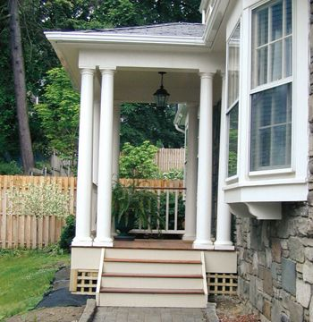 9 best images about side entrance steps ideas on for Side porch