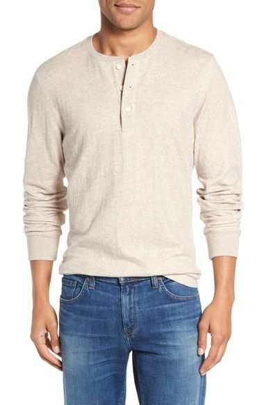 Nordstrom Men's Shop Long Sleeve Henley available at #Nordstrom
