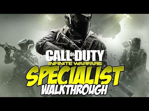 http://callofdutyforever.com/call-of-duty-gameplay/call-of-duty-infinite-warfare-specialist-walkthrough-1-rising-threat/ - Call of Duty: Infinite Warfare | Specialist Walkthrough | 1: Rising Threat  This is a full walkthrough for Call of Duty: Infinite Warfare on Specialist difficulty with commentary throughout. Specialist is unlocked by beating the game, potentially on Veteran as I did, and makes it so you no longer regenerate. Instead, you take limb damage and must heal us