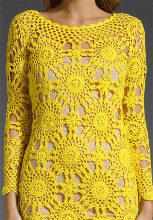 Wildflower Crochet Dresses ♪ ♪ ... #inspiration #diy GB http://www.pinterest.com/gigibrazil/boards/