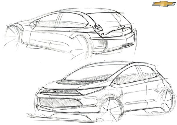 Chevrolet Freehand Sketches on Behance