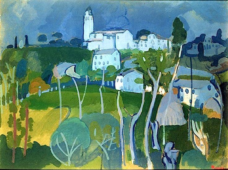 The Little Parish Church, 1908, Rossi, Gino (1884-1945)