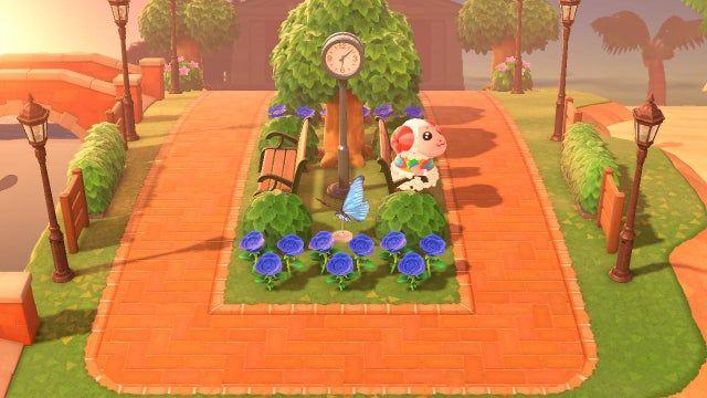Reddit Animalcrossing A Fruit Market Amongst The Fruit Trees In 2021 Animal Crossing Animal Crossing Guide Animal Crossing Qr