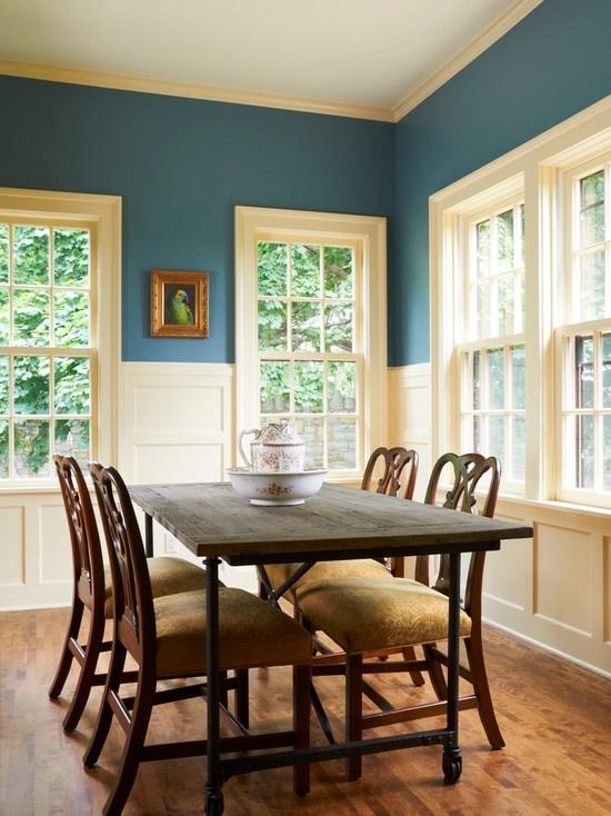 Dining Room Blue Paint Ideas