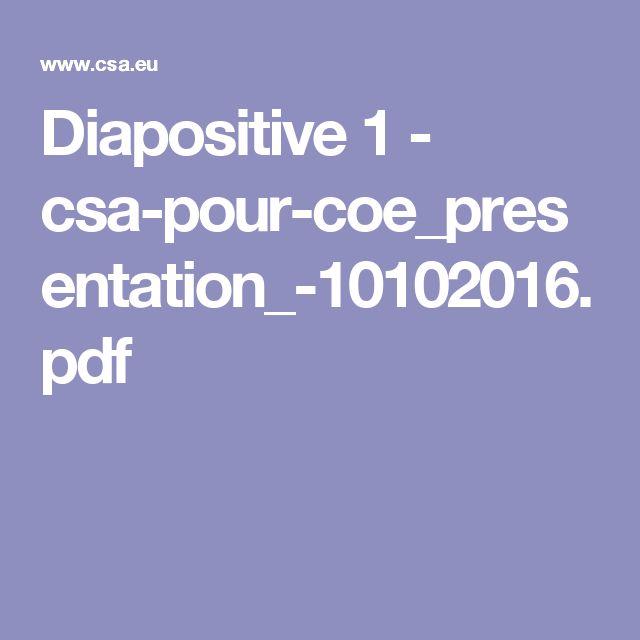 Diapositive 1 - csa-pour-coe_presentation_-10102016.pdf