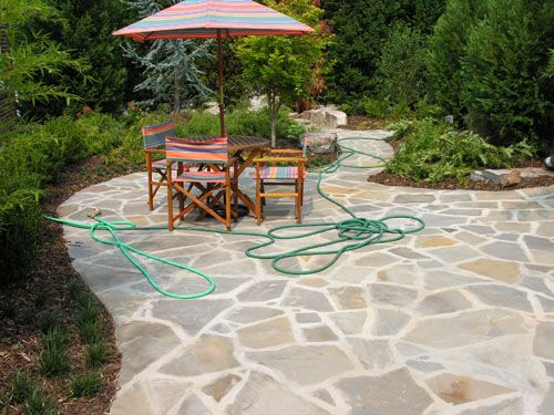 15 best backyard patios images on pinterest | patio ideas, stone ... - Patio Stone Ideas With Pictures