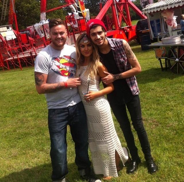 Zayn, Perrie and Jonnie