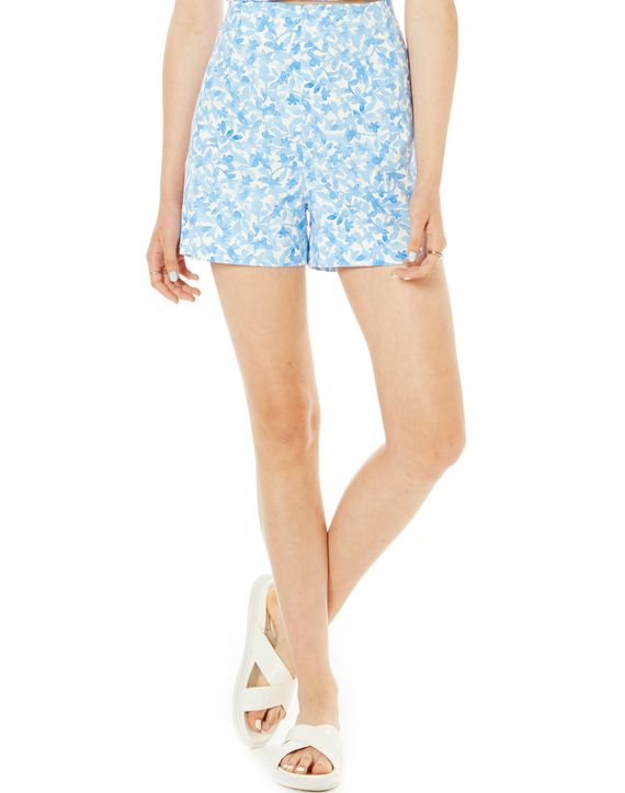 Floral Print Hight Waist Shorts