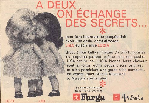 Lucia & Lisa - Poupees Furga et Italocremona