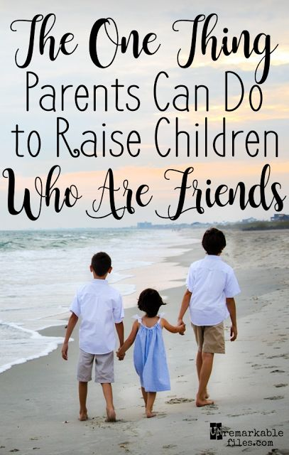 There's one thing I've learned about coaxing good behavior out of your kids, and it works to help them get along with their siblings like it works for everything else.  {posted @ Unremarkable Files}