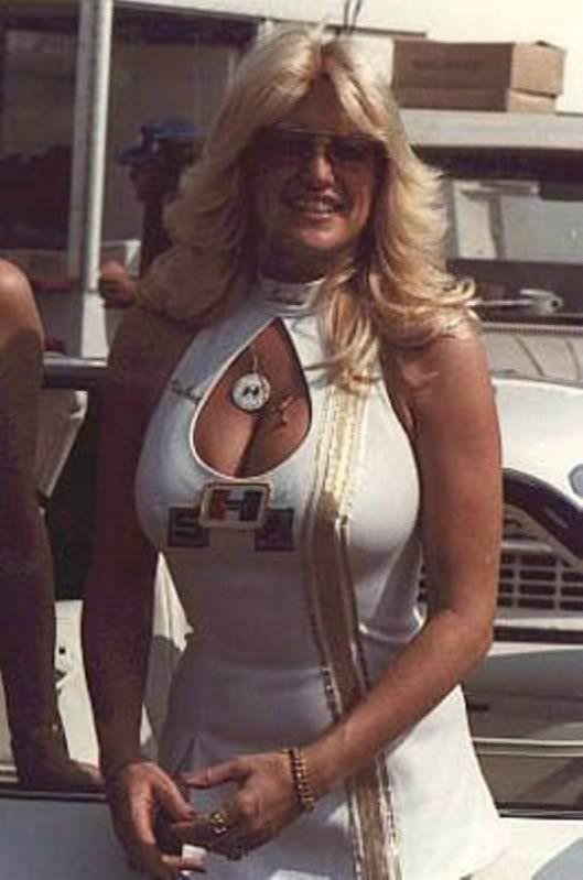 Linda Vaughn In Indy Through Saturday