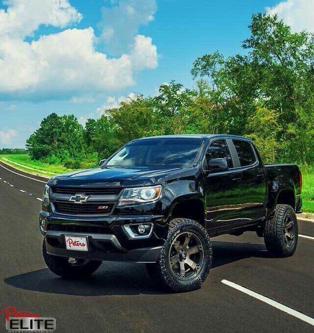 2016 Chevrolet Colorado Z71 lifted