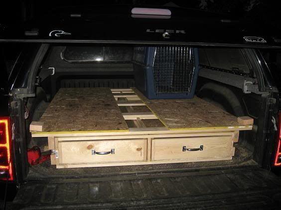 Truck bed slide out drawer?? - Refuge Forums | Truck bed ...