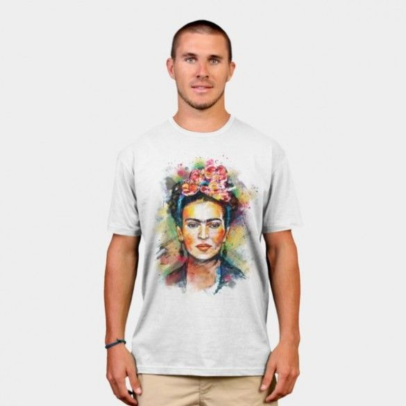 Frida Kahlo T-shirt Design by tracieandrews