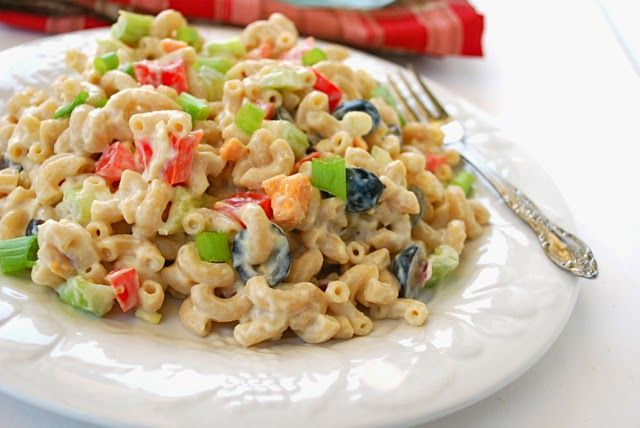 Macaroni Salad (3 Points ) | Weight Watchers Recipes