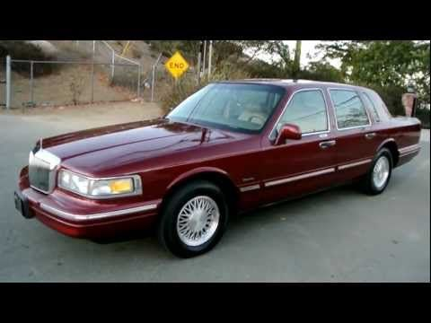 17 best ideas about 1997 lincoln town car lincoln 1997 lincoln town car 1 owner 83k orig miles car guy a used last