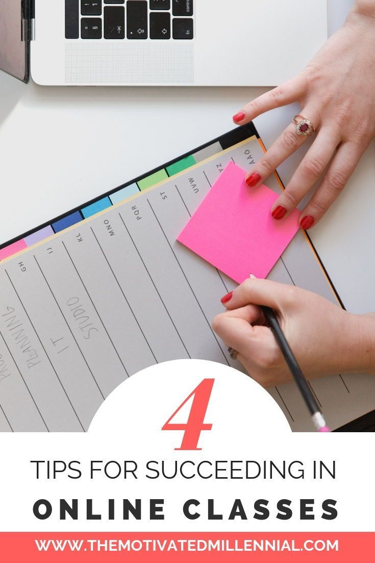 4 Tips for Succeeding in Online Classes