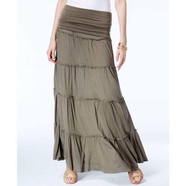25 best ideas about olive maxi skirts on