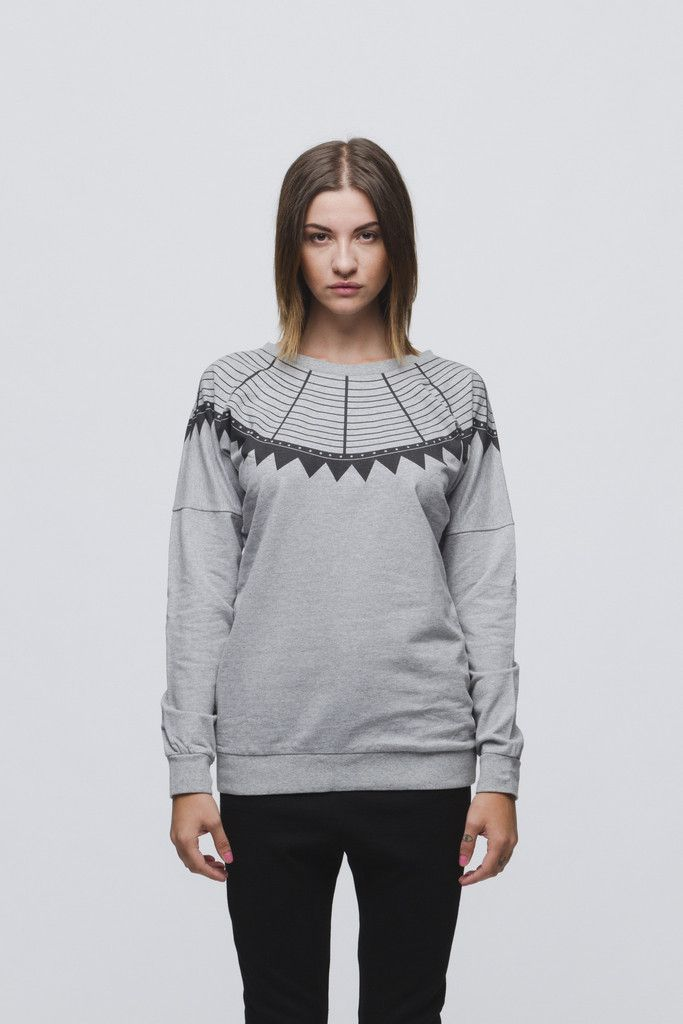 ISABELLA // GREY SWEATER
