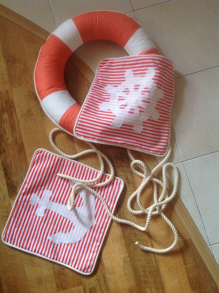 Рукоделие шитье аппликация морская тема морской стиль