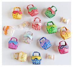 リボンのバッグ の画像|折り紙作品