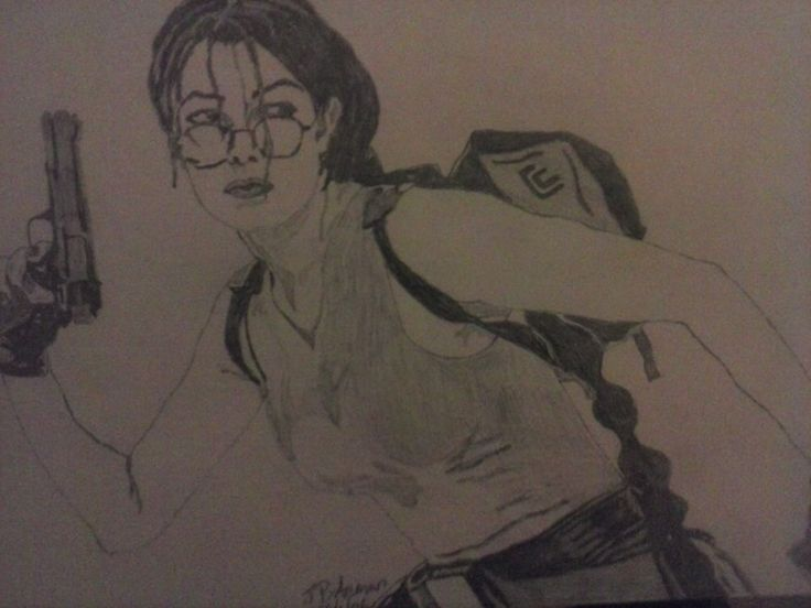 Lara Croft Artist :Jackie Bateman
