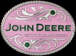 John Deere Belt Buckle Women's TractorUP.com