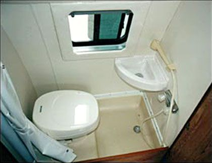 167 Best The Bathroom   Van Life Images On Pinterest | Camper Van, Van Life  And Camper Storage