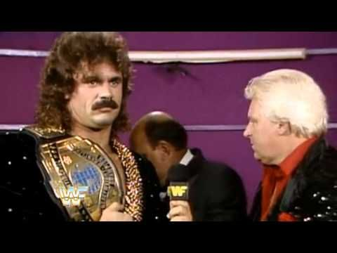 WWE - Mean Gene's 1989 SummerSlam Blooper - Extended - Bobby Heenan / Rick Rude - YouTube