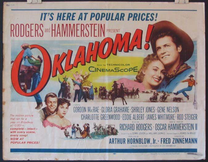 OKLAHOMA! Movie Poster (1956)
