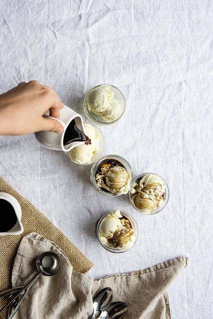 Cold brew affogato