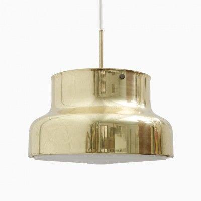 Bumling Hanging Lamp by Anders Pehrson.  Vi har dock originalet från 70 talet. Bara putsa och hänga upp.