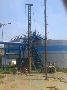 pekerjaan bor pile diameter 40 cm di kawasan Surya Cipta, Karawang